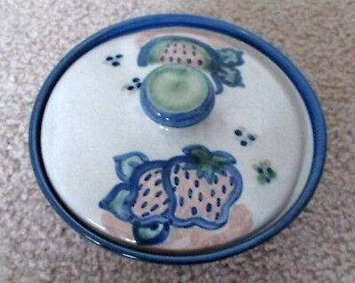 Mary Alice Hadley Covered Bowl (Vintage) Strawberry/watermelon Design