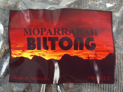 Biltong / Beef Jerky (Traditional South African) 1KG (500gms x 2)