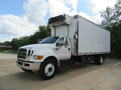2015 Ford F-650 Reefer Truck  Cng