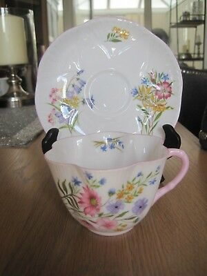 Shelley Dainty Cup & Saucer Wild Flowers