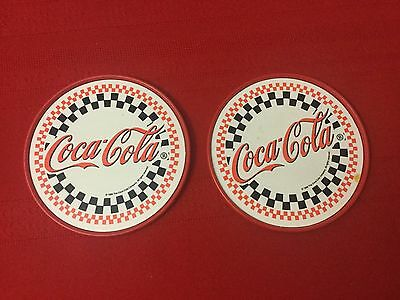 Coca Cola Coke coasters, set of 2  collectible