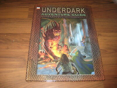 d20 system Underdark Adventure Guide Sourcebook HC Goodman Games 2003 VG