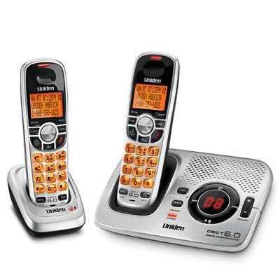 Uniden 6.0 Digital Cordless Phone Dect 2035+1 Caller Id 2 Handsets Answ/machine