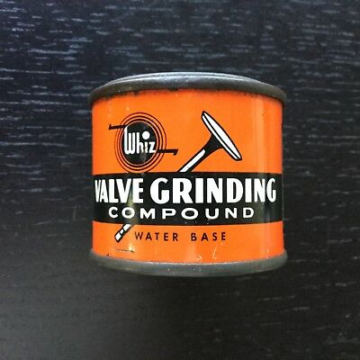 Vintage Whiz Valve Grinding Compound Tiny Can - Great Condition.