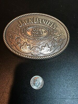 Jack Daniels Old No.7whiskey.Western Style Belt Buckle. Very Cool Belt Buckle!