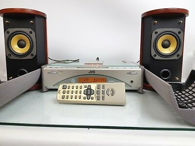 JVC FS-SD9R STEREO COMPACT COMPONENT SYSTEM, TUNER CD PLAYER w/ REMOTE CONTROL