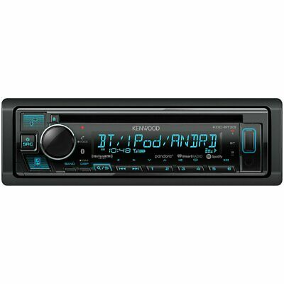 NEW Kenwood KDC-BT33 CD Receiver with Bluetooth App Control and 3 RCA Preouts