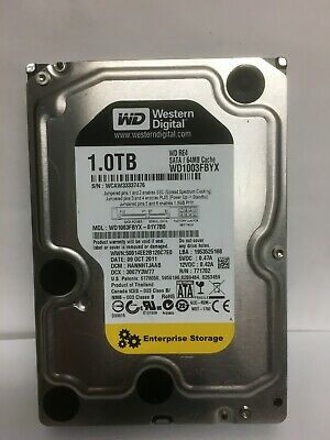 "Western Digital WD1003FBYX 3.5"" 1TB 7200RPM SATA 64MB 3Gbps RE4 HDD Hard Drive"