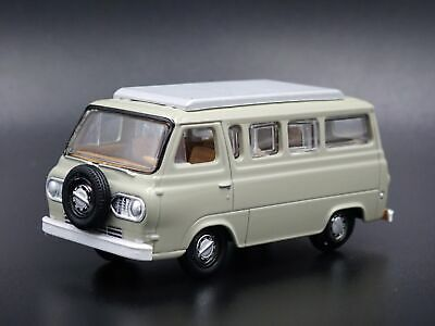 1965 Ford Econoline Camper Van Tan Rare 1/64 Scale Limited Edition Diecast Model