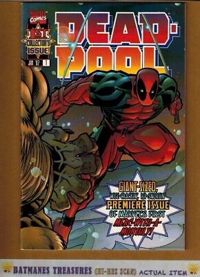 Deadpool #1 (9.4) NM 1st Full Series 1997 Marvel Comics Key Issue