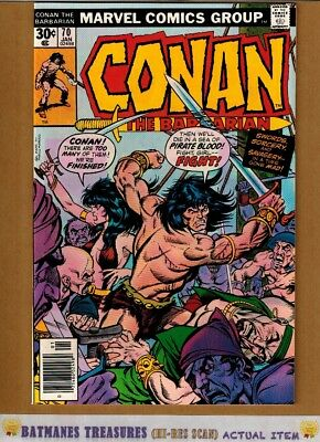 Conan the Barbarian #70 (9.4-9.6) NM+ By Gil Kane 1977 Bronze Age Key Issue