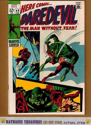 Daredevil #49 (8.5) VF+ 1st Starr Saxon Appearance 1969 Silver Age By Stan Lee