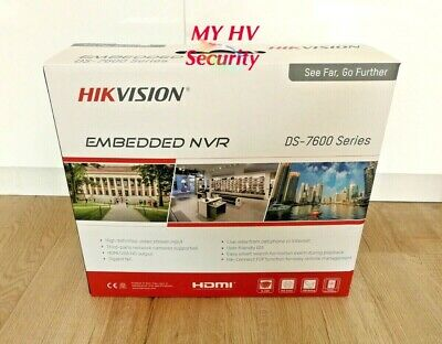 Hikvision DS-7616NI-I2-16P 4K Ultra HD NVR No HDD 16 CH AU stock 3Yr Warranty
