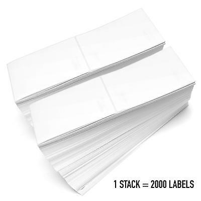 "Fanfold 4""x6"" Direct Thermal Shipping Perforated Adhesive Labels Zebra 2844 UPS"