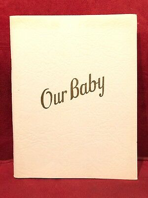 1943 Baby's Treasures Baby Album by R.S. Kalwajtys Continental Life Insurance