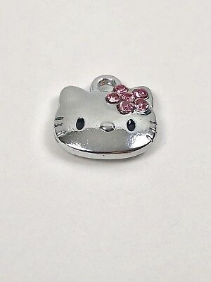 Hello Kitty Charm Or Necklace Pendant Lot Of 10 Party Favors Craft Project