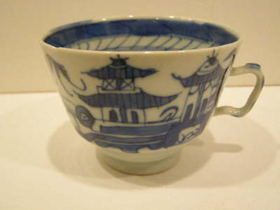 Antique Blue And White Chinese Porcelain Tea Cup