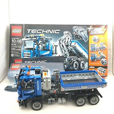 Lego Technic Container Truck 42024 New Sealed 9199 Picclick