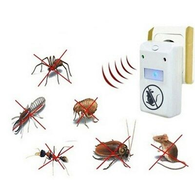 Electronic Ultrasonic Anti Mouse/Mosquito Repeller 220V Pest Rejector US/EU Plug