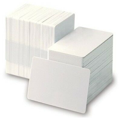 Badgy Mylar Self-Adhesive 0.25mm PVC Card (Adhere to Proximity Cards) - 100 Pack