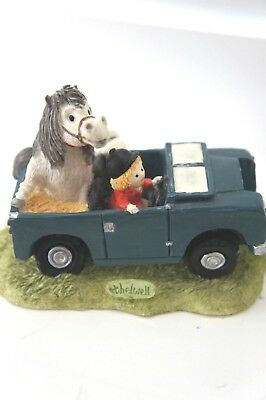 Thelwell 'happy Now' Figurine By C Norman Gray's 68/2000 Vgc Rare