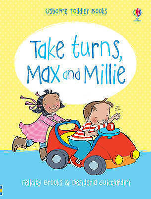 Usborne Book, Take Turns Max & Millie, Toddler Book, Story Book