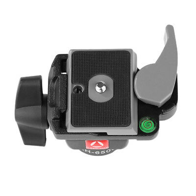 Camera Monopod Quick Release Plate For Manfrotto 234RC Aluminum Tilt Head SW1