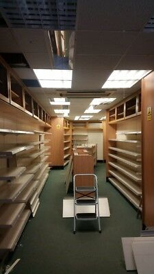 Shop Shelving/units/ Reception Desk Need Gone ASAP Dismantled And Ready To Go