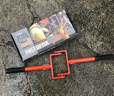 """Caldwells Post Lifter - Up To 4"""" (100mm) - Heavy Duty"""