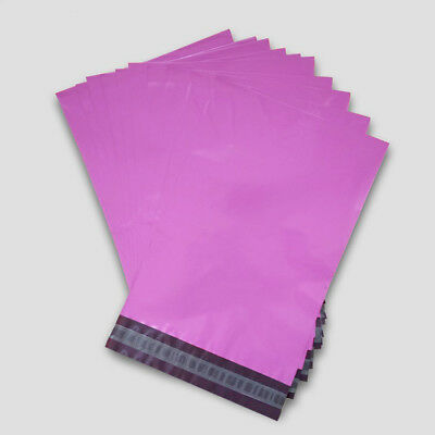Strong Poly Mailing Postage Postal Bag Quality Self Seal Pink Plastic Mailer