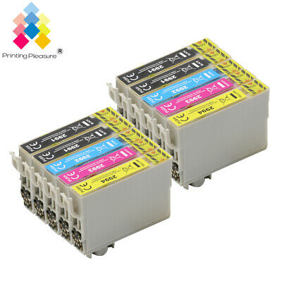10 Ink Cartridge for Epson Expression Home XP332 XP355 XP335 XP352 UPGRADEDCHIP