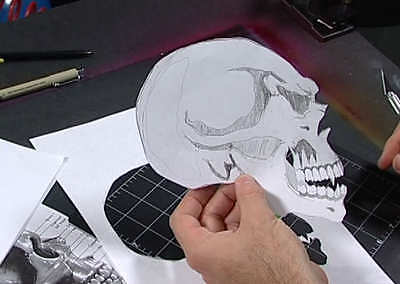 The Ultimate Stencil Disk For Airbrushing, Special Fx, Art, Craft & Fantasy Work