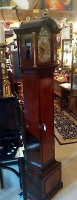 Grandmother Clock by Sinclair Harding, circa 1975, 8 day, fabulous build quality