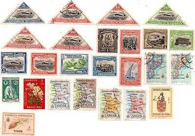portuguese colonies stamps