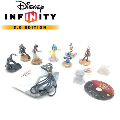 Disney Infinity 3.0 Star Wars Starter Pack+ Altre Statuine Inside Out Spiderman