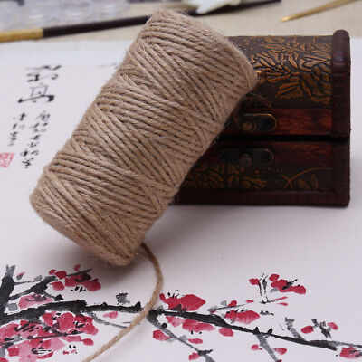 2mm*150m Brown Jute Hemp Rope Twine String Cord Shank Craft String DIY Making