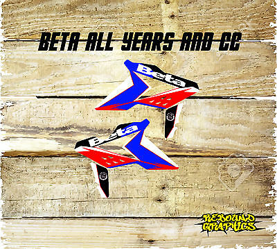 Beta Evo X Trainer Rr 2T 4T Rr Enduro Rad Scoops-Graphics-Decals All Years