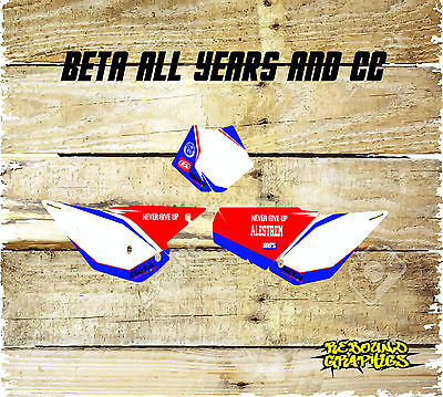 Beta Evo X Trainer Rr 2T 4T Rr Enduro Backgrounds-Number Boards-Decals All Years