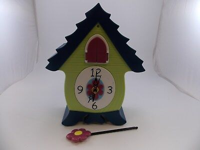 HEADSUP Design Company MeowCoo CAT CUCKOO CLOCK (Discontinued Range) - WORKING