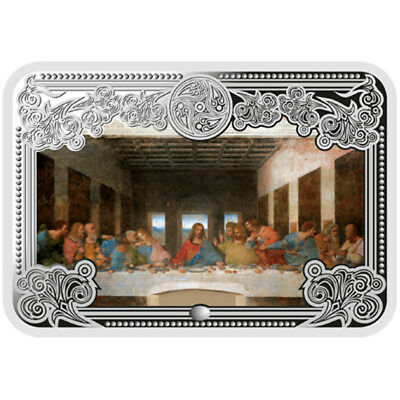 Andorra 2013 5 diners The Last Supper Wonders Jesus Christ Proof Silver Coin