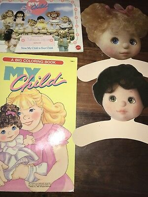 My Child Doll Colour Book, Brag Book And Hangers