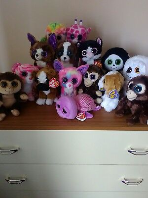 Ty Beanie Boos Boo bundle, 15 brand new boos, excellent condition