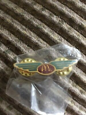 mcdonalds Vintage Lapel Hat Pin Wings