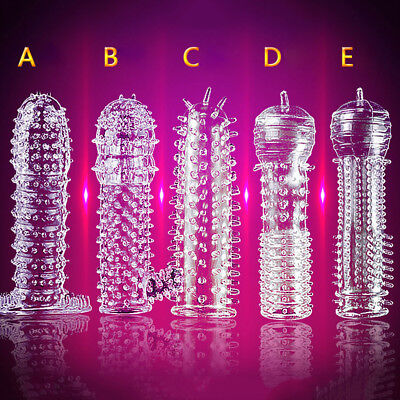 FX- Special Silicone Spike Dotted Ribbed Condom Permanent Enhance Series #q Nimb