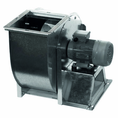 Centrifugal industrial duct extractor fan, blower, 1420 RPM, 13000 m3/h; 400 V