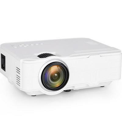 Rigal RD812 Mini LED Projector WiFi Wireless Wired Sync Display LCD 3D Projector
