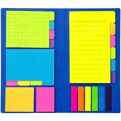 Colored Divider Sticky Notes Bundle Set by heartybay