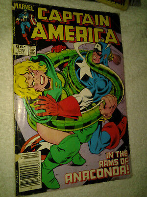 Captain America #310 first appearance of cottonmouth serpent society
