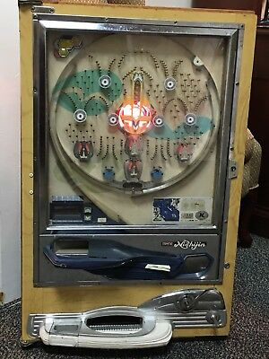RARE Vintage 70's NISHIJIN Pachinko Machine! Working Condition