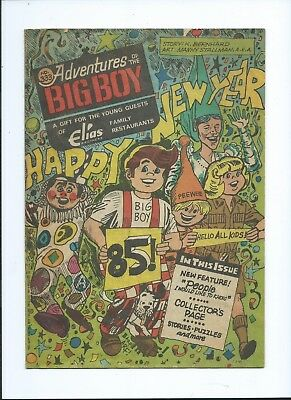 1985 comic book Adventures of the BIG BOY #333 Happy New Year Party story puzzle